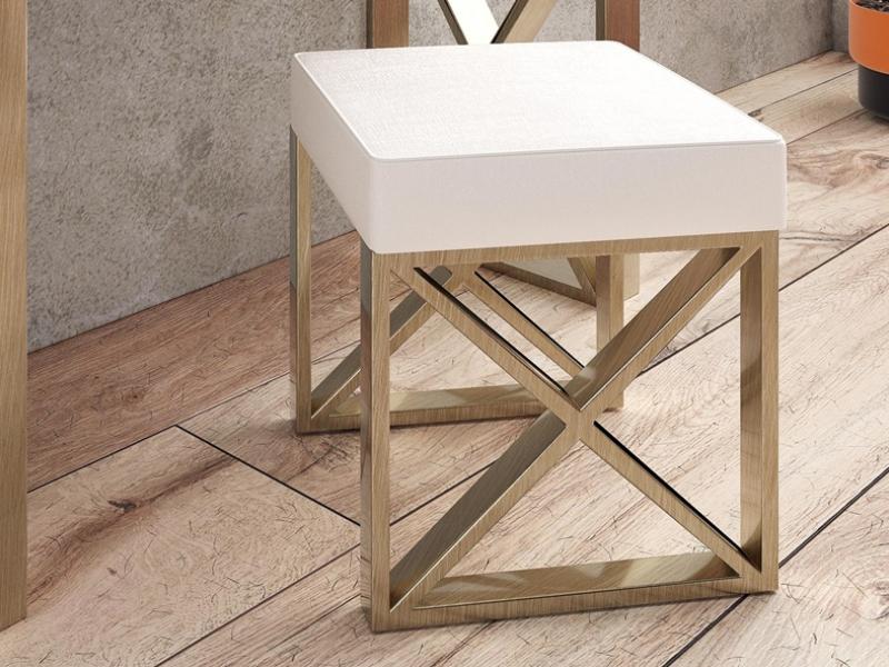 Upholstered design bench. Mod. LINDE