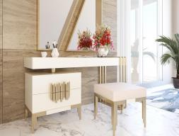 Lacquered design vanity. Mod. ANCONA
