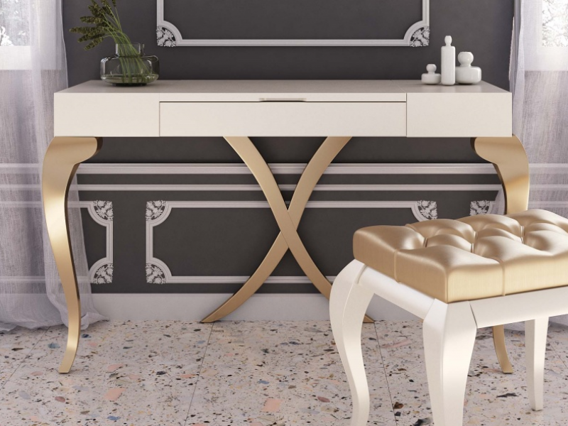 Lacquered design vanity. Mod. SYROS