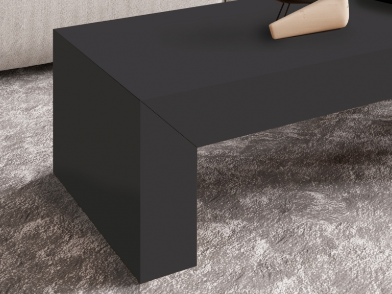 Coffee table with sliding top. Mod. TOKIO LACADO