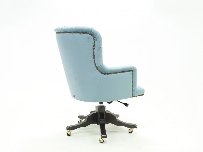 Swivel upholstered armchair in velvet. Mod. CITY