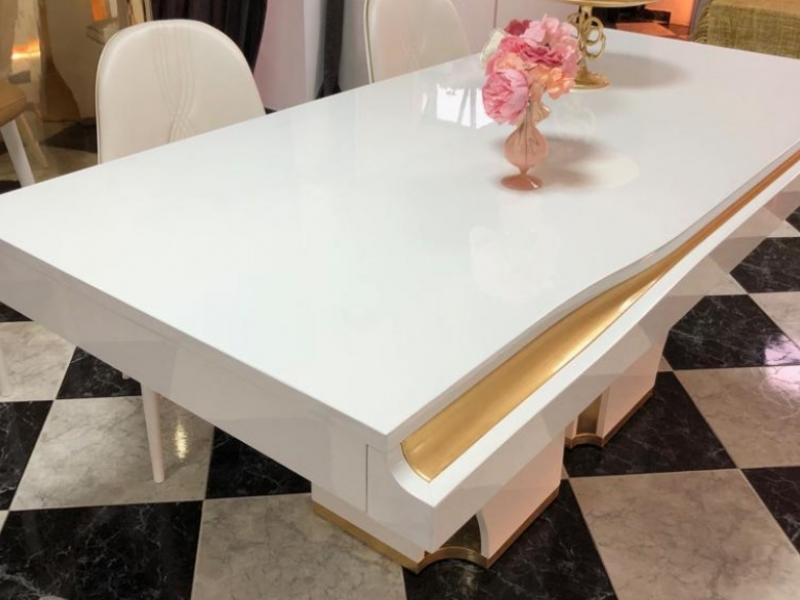 Fix dining table with cultery drawer. Mod. ESSENCE