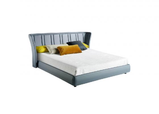 Upholstered complete bed.Mod: TAUREAU