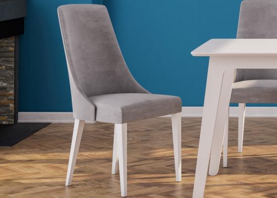 Upholstered chair. Mod. NIZA