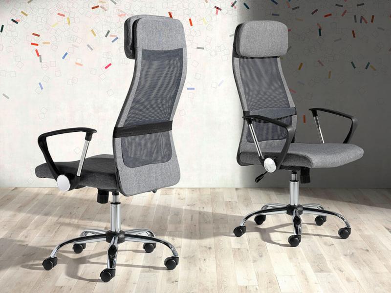 Swivel office armchair. Mod: VIVALDI