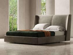 Complete upholstered bed. Mod. SOLEIL