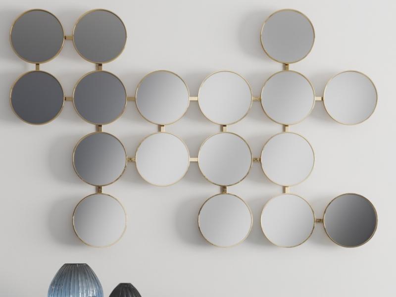 Design mirror. Mod. MONSIEUR