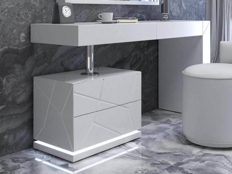 Lacquered design vanity. Mod. NAUGE