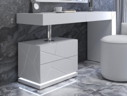 Lacquered design vanity. Mod. NAUGE