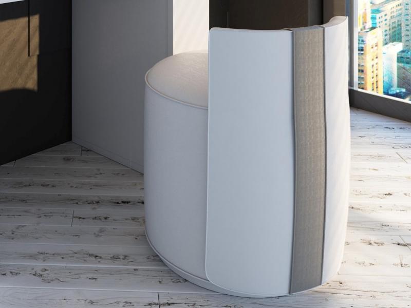 Upholstered bench. Mod. NAUGE