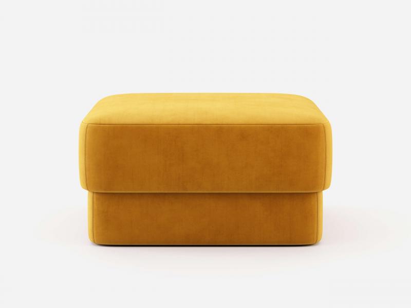 Upholstered pouf. Mod. ENMA XL