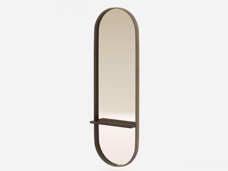 Oval entrance mirror. Mod. ALDA