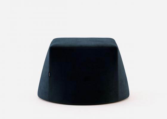 Upholstered pouf. Mod. DIAMANT