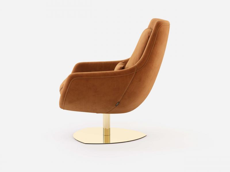 Swivel and relax armchair. Mod: TELVA