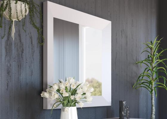 Lacquered mirror. Mod: ELBA